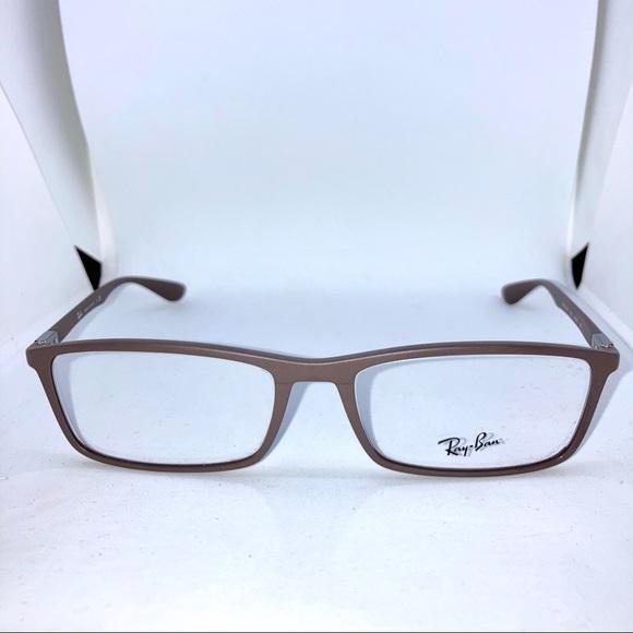 Ray-Ban 7048-F Matte Dove Eyeglasses
